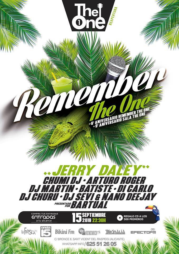 Festival remember 90. Jerry Daley, Julio Posadas, New Limit